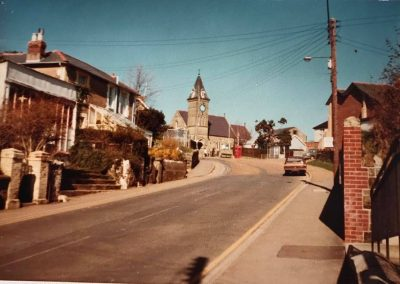 Wroxall High Street 1980's