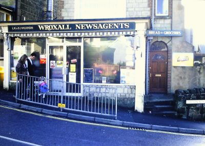 Wroxall Newsagents - Rob Chiverton