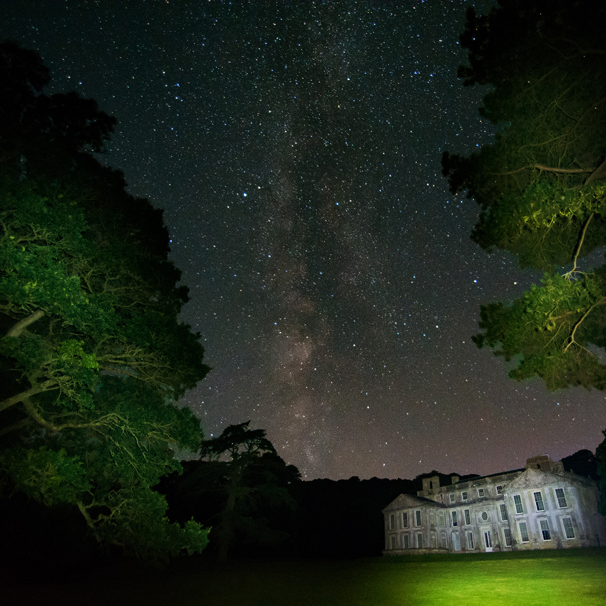 Milky Way at Old Mansion House